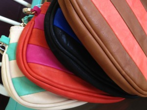 Chic Leather Clutches by Shiraleah at Revival
